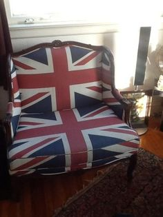 San Francisco: Union Jack Ben Sherman Chair $350 - http://furnishlyst.com/listings/1186620