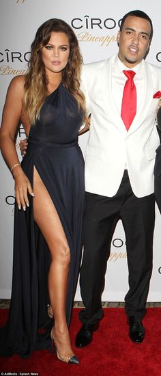 Khloe Kardashian (pictured with ex French Montana)