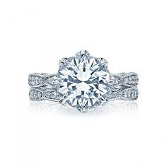 Style# HT2604RD10 - RoyalT - Engagement Rings - Tacori.com