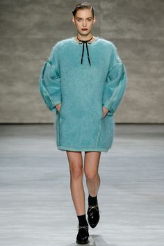 Zimmermann fall-2014 turquoise wool