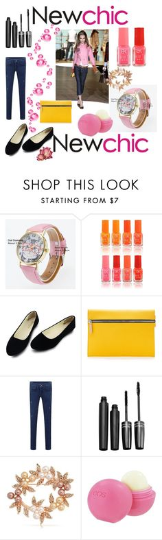 """Newchic.com Contest"" by mandimwpink ❤ liked on Polyvore featuring Victoria Beckham, Bling Jewelry, Eos, chic, New and newchic"