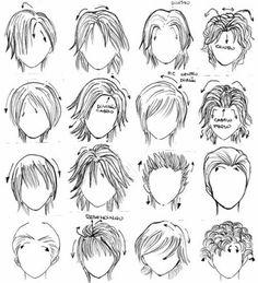 comment dessiner des cheveux