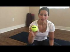 Tennis ball massage can HELP to get sciatic pain relief! Sciatica massage using a tennis ball is a great way to heal using softball for a butt massage. Sciatica Pain Treatment, Sciatica Pain Relief, Sciatica Exercises, Sciatic Pain, Massage Treatment, Back Pain Exercises, Sciatic Nerve, Nerve Pain, Yoga Poses