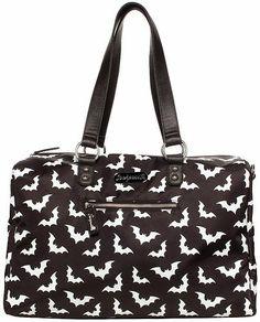 The Spooky Vegan: Summer Beach Goth Essentials including Sourpuss' Spooksville Bats Travel Bag!