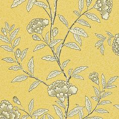 Create a lush living space with this Chinese Peony wallpaper from Sanderson. Part of the Richmond Hill collection it's been reproduced from an early 20th century wallpaper and features a delicate t...