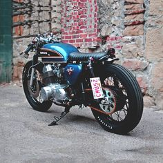 Honda 750 Cafe Brat | Tracker | Salek