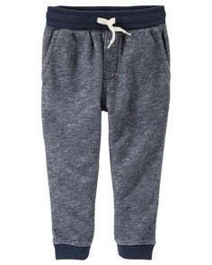 Gymboree Boys Little Quilted Knee Jogger