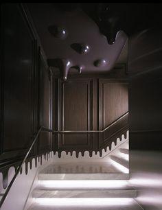 Wonderwall (Japon). Le chocolat dégouline chez Godiva. | Décoration maison, meubles maison jardin et design intérieur sur Artdco.net