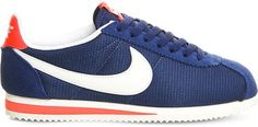 Nike Cortez suede trainers