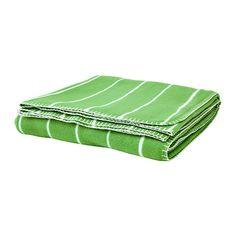 SOMMAR 2015 Fleece Bedspread/blanket - green - IKEA; $15