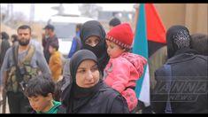 Хамурия. Освобождение жителей Восточной Гуты. Сирия  Hamuria Liberation ...