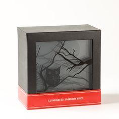 Owl+Light-Up+Shadowbox+Price+$24.95