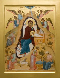 The Nativity of Christ. #Christ #Jesus #Nativity #Contemporary