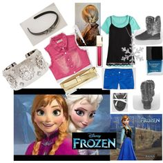 """Disney's Frozen - Anna"" by trendlea on Polyvore"
