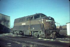 Monon EMD BL2 Diesel Locomotive.