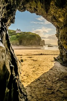 Llangrannog, Cardigan Bay, Wales by Gary Fotografia Atherton - CAVE England Ireland, England And Scotland, Swansea, Wales Uk, Snowdonia, Cardiff, British Isles, Great Britain, Wonders Of The World