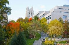 Boston College | Million Dollar Stairs