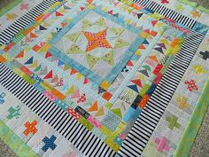 marcelle medallion {finished quilt top}