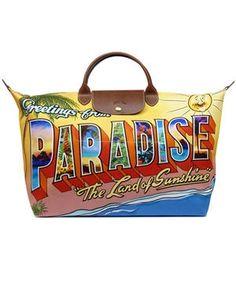 """Le pliage """"Paradise"""" de Jeremy Scot pour LONGCHAMP"""