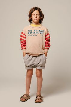 The Animals Observatory I New collection I Smallable Kindermode - The Animals Observatory - Kollektion Frühling Sommer 2016 The Animals, Fall Fashion Outfits, Boy Fashion, Baby Boy Outfits, Kids Outfits, Kids Boys, Baby Kids, Kids Cast, Summer Kids