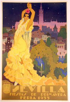 Art Deco Sevilla Posters