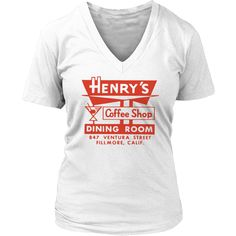 Henry's Coffee Shop Vintage Matchbook
