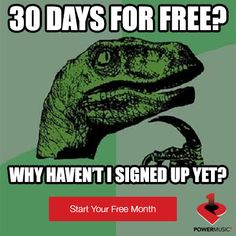 What are you waiting for? Start your free trial of #PowerMusic1 today!