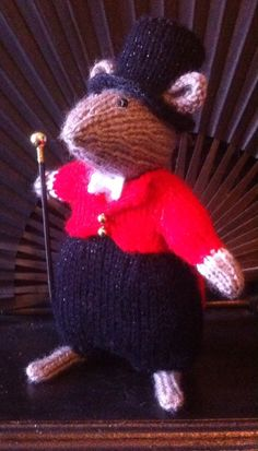 Rozita ringmaster Beth's mouse circus 2015 made by aunty Roz