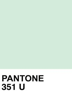 Auch Pantone steht bereit mit der perfekten frühlingshaften Pastell-Mint Nuance.
