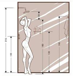 Bathroom Layout Plans, Small Bathroom Layout, Small Bathroom Dimensions, Toilet Design, Bathroom Design Luxury, Washroom Design, Bathroom Fixtures, Bathroom Inspiration, Human Body