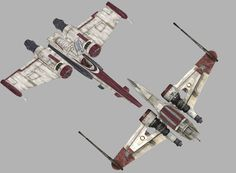 Z-95 Headhunter and ARC-170 Starfighters