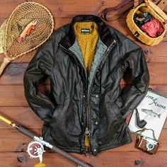 North Sea, Barbour, New England, Collaboration, Bomber Jacket, Leather Jacket, Adventure, Fall, Jackets