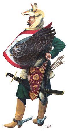 Balkan light hussar, 16th century