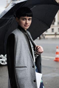 fall. winter. coat. grey. black.