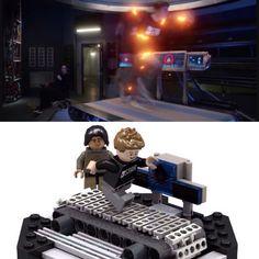 Lego Dc Comics, Lego Marvel, Fun Stuff, Geek Stuff, Star Labs, Reverse Flash, Lego Design, Nerd Geek, Lego Ideas