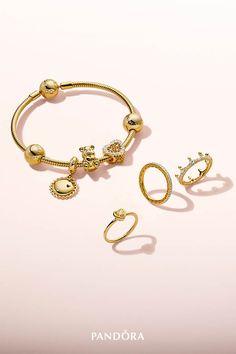 0ed38f8b84305 78 Best Pandora Gold Jewellery images in 2019   Jewelry, Pandora ...