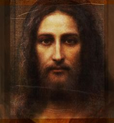 Don't think I've ever seen this painting of Jesus. I love!