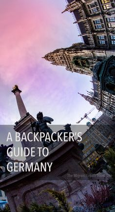 Since we started this blog, we have been getting tons of questions pertaining to traveling and backpacking in Germany. So finally after months of just sitting around and single-handedly answering each of the emails, we figured we would finally write down every and all things any traveler should know when backpacking Germany. At least we hope we can cover it all!