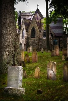 St. Philip's Church ~ an Episcopal church located on New York State Route 9D in the hamlet of Garrison, New York. It is a stone Gothic Revival building designed by Richard Upjohn, a congregant of the church, and opened in 1865.