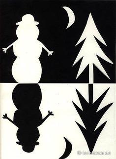 Positiv-Negativ Schneelandschaft The Effective Pictures We Offer You About kids art projects christm Winter Art Projects, Winter Project, Winter Crafts For Kids, Preschool Winter, Art Activities For Kids, Art For Kids, Notan Design, Notan Art, Arte Elemental