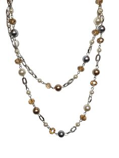 Mixed Pearls - http://deniseilitchdesigns.com/necklace/mixed-pearls.html