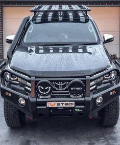 "STEDI BLACK Type-X™ 8.5"" LED Driving Lights (PAIR) Toyota 4x4, Toyota Trucks, Toyota 4runner, Toyota Tacoma, Gmc Trucks, Pickup Trucks, Best Off Road Vehicles, Custom Canopy, Tacoma Truck"