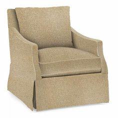 Bernhardt-Reagan Swivel Chair  W: 27-1/2 D: 33 H: 34 SH: 17-1/2 AH: 23 SD: 19-1/2 BA: 22