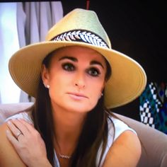 @kylerichards18 sitting pretty in her #Belize & #AdornA! And now to answer all the calls and emails you sent us: the #bestseller is back in stock (in black & natural) #AllTimeFavHat #RealHousewivesOfBeverlyHills #RHOBH (also avail @kylebyalenetoo) Take advantage of our ongoing SALE on hair on selected hats