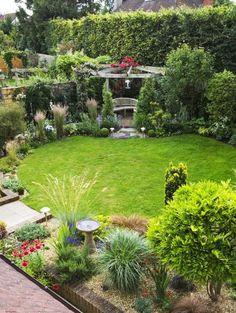 44 Hardscape Backyard Inspiration to Rearrange Your Backyard - TopDesignIdeas Design Cour, Design Jardin, Ponds Backyard, Backyard Landscaping, Landscaping Ideas, Backyard Ideas, Landscaping Software, Luxury Landscaping, Corner Landscaping