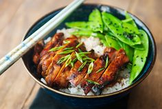 chicken teriyaki bowl recipe | use real butter