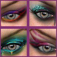 funky eyeshadow looks