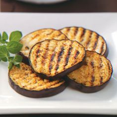 Spicy Grilled Eggplant - reduce oil to 1 Tbsp., servings to 4 - WW PP: 2 - made June 23/13 - 5 stars