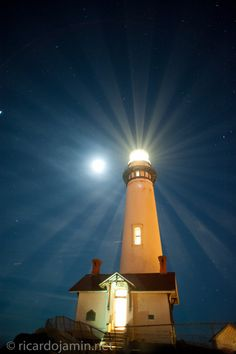 """500px / Photo """"Pigeon Point Lighthouse lighting event"""" by jaminphoto"""