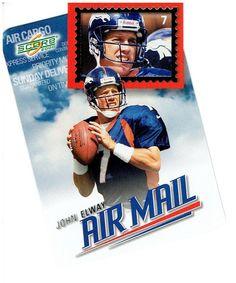 JOHN ELWAY 2000 SCORE AIR MAIL #AM11 #Score #DenverBroncos Football Trading Cards, Baseball Cards, John Elway, Different Sports, Sports Photos, Denver Broncos, Scores, Rest, Ebay